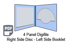4 Panel CD digifile 2 Disc